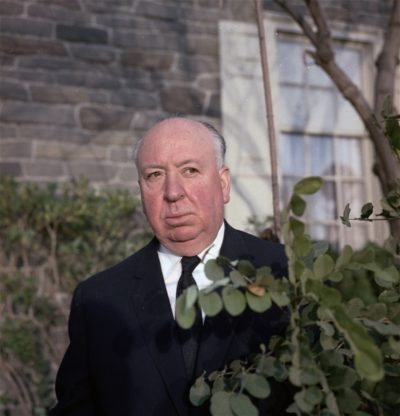 Alfred Hitchcock pictured in Hollywood in 1964. (AP)