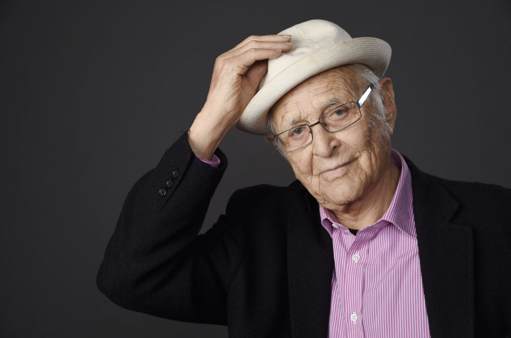 In this Aug. 1, 2015 file photo, television writer and producer Norman Lear poses for a portrait. (Chris Pizzello/Invision/AP)