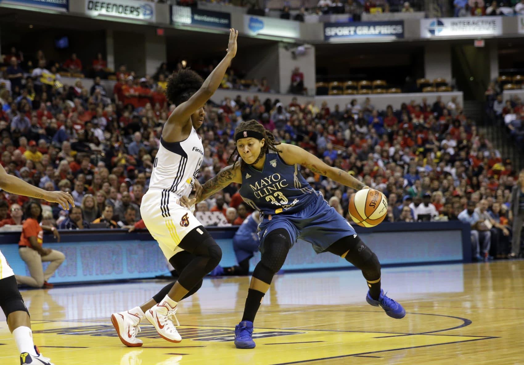 Seimone Augustus has won four WNBA titles with the Minnesota Lynx. (AJ Mast/AP)