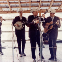Bill Monroe's Blue Grass Boys in 1966 (Courtesy Richard Greene)