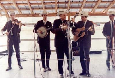 Bill Monroe's Blue Grass Boys in 1966 (Courtesy Richard Greene)
