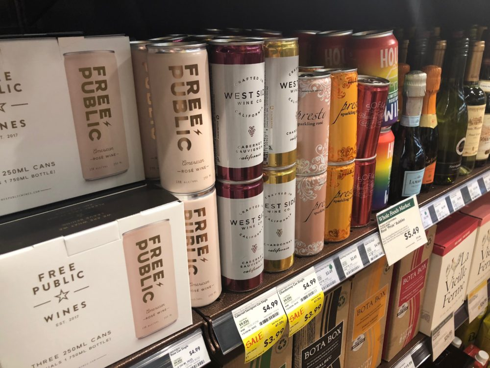 This Harvest Season, Wine Is Crushing It In A Can | Here & Now