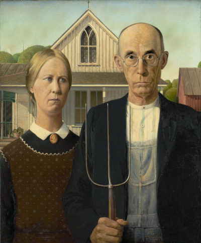 """American Gothic"" by Grant Wood (Courtesy)"