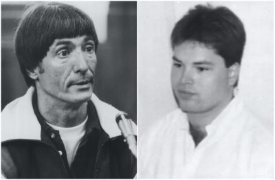 George Reissfelder and David Turner were both pulled into the gravitational orbit of crime boss Carmello Merlino at TRC Auto Electric in Dorchester in the late '80s. (Courtesy Boston Globe)