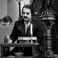 Rob as Poe at Mount Auburn 2017. (Courtesy: Rob Velella)