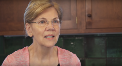 "Screenshot from ""Elizabeth Warren's Native American Heritage"" video. (YouTube)"