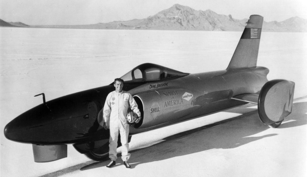 Land Speed Record >> Craig Breedlove S Quest For The Land Speed Record Only A Game