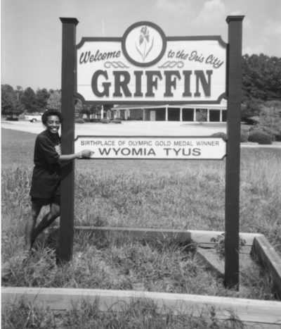 Wyomia Tyus Olympic Park in Griffin, Georgia. (Photo by Duane Tillman/Courtesy Akashic Books)