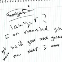 A screenshot of Dzokhar Tsarnaev's responses from his interrogation, which were released Monday.