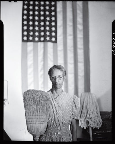 """American Gothic (Ella Watson)"" by Gordon Parks (Courtesy)"