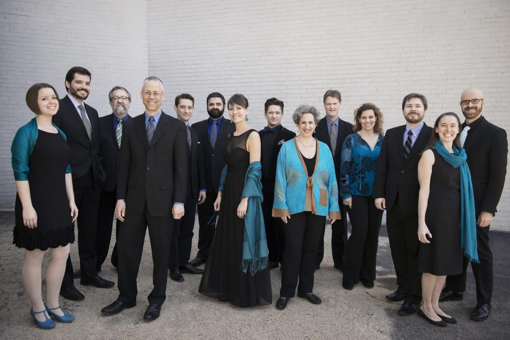 The Blue Heron ensemble. (Courtesy Liz Linder)