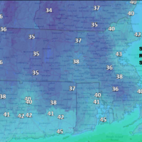 Some areas will be in the 30s Sunday morning. (Dave Epstein/WBUR)
