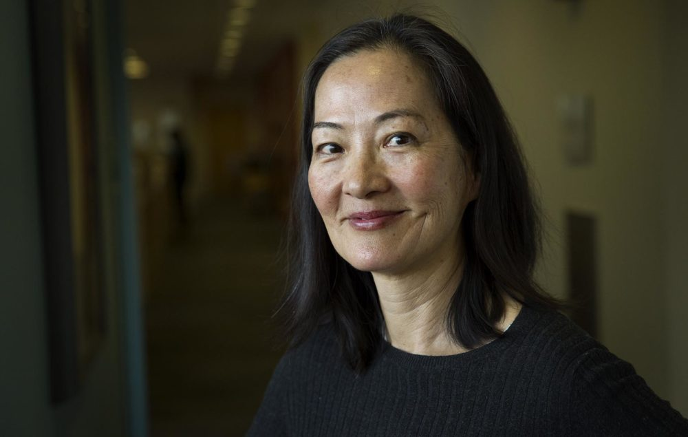 "Rosalind Chao was one of the stars of ""The Joy Luck Club,"" which came out 25 years ago. The film will open the 2018 Boston Asian American Film Festival. (Robin Lubbock/WBUR)"