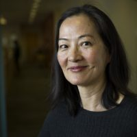 """Rosalind Chao was one of the stars of """"The Joy Luck Club,"""" which came out 25 years ago. The film will open the 2018 Boston Asian American Film Festival. (Robin Lubbock/WBUR)"""