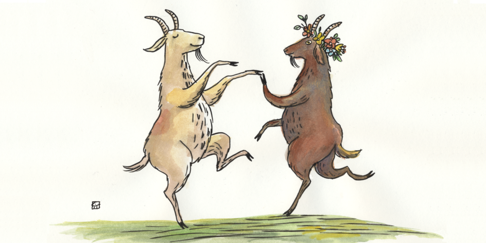 The Dancing Goats' | Circle Round 50 | Circle Round