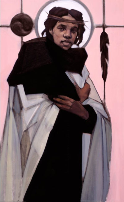 """""""Jesus of the People"""" by artist Janet McKenzie (Courtesy of the artist)"""
