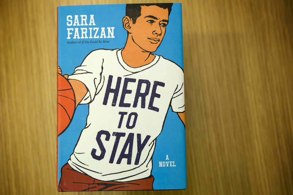 """Here to Stay,"" by Sara Farizan. (Robin Lubbock/WBUR)"