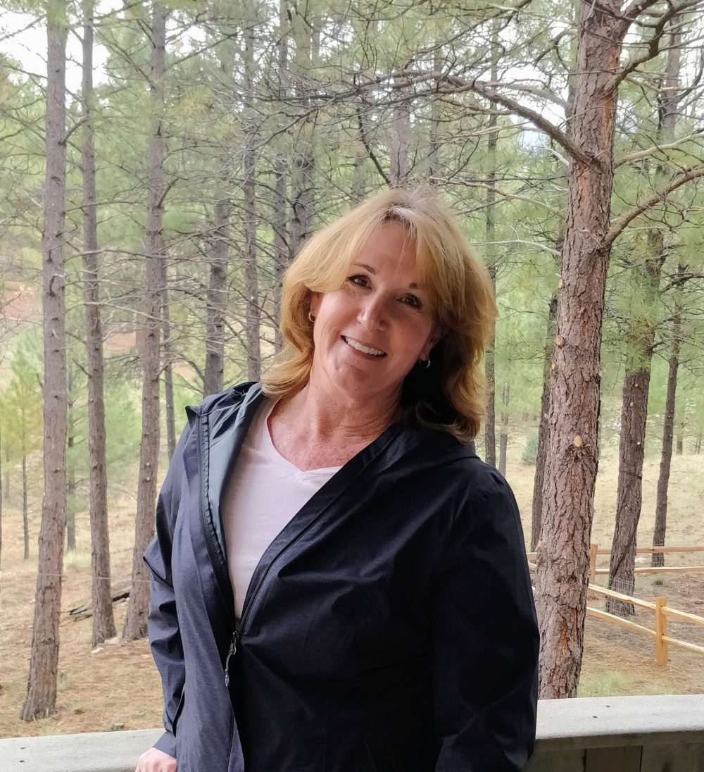 """Julie Paez was shot twice at the Inland Regional Center in San Bernardino, California, in 2015. She recently moved to Flagstaff, Arizona, to """"start over."""" (Courtesy of Julie Paez)"""