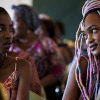 "A still from Wanuri Kahiu's film ""Rafiki."" (Courtesy IFFBoston)"
