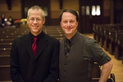Scott Metcalfe and John Yannis. (Courtesy Liz Linder)