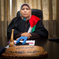 Judge Kholoud Al-Faqih. (Courtesy Boston Palestine Film Festival)