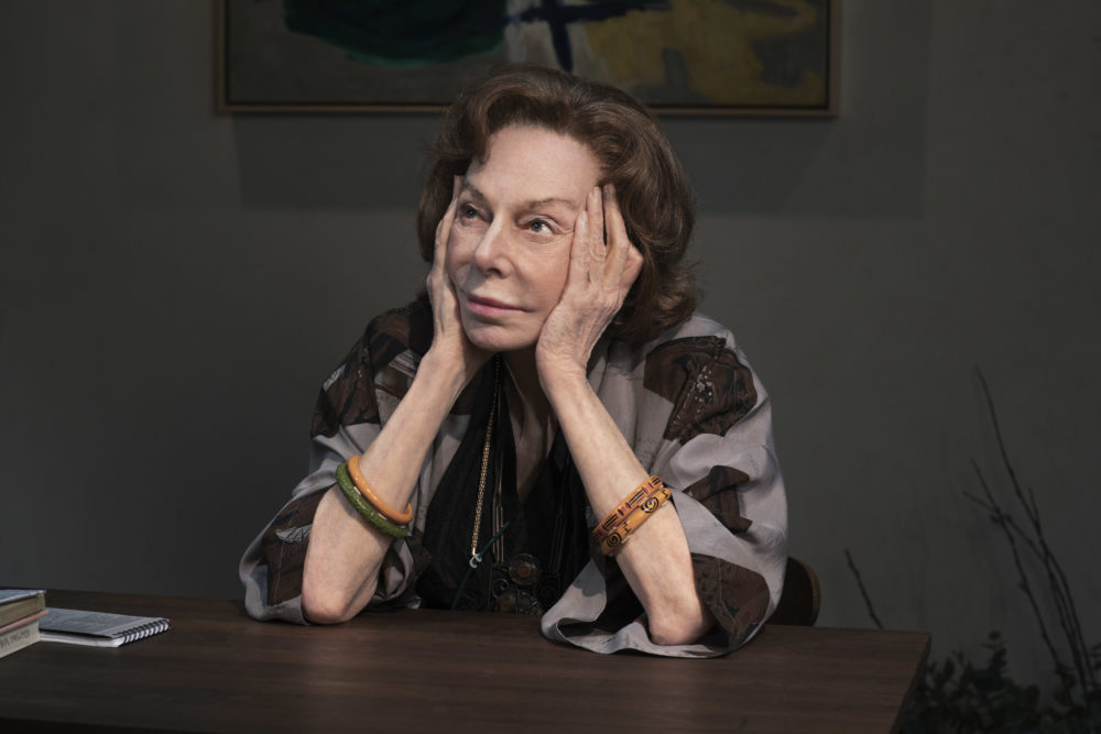 "Elaine May as Gladys Green, a grandmother in the early stages of Alzheimer's and who is on the brink of losing her Greenwich Village art gallery, in ""The Waverly Gallery."" (Brigitte Lacombe/Courtesy of the production)"