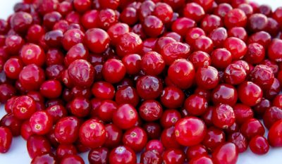 There's an abundance of cranberries this time of year. (Robin Lubbock/WBUR)
