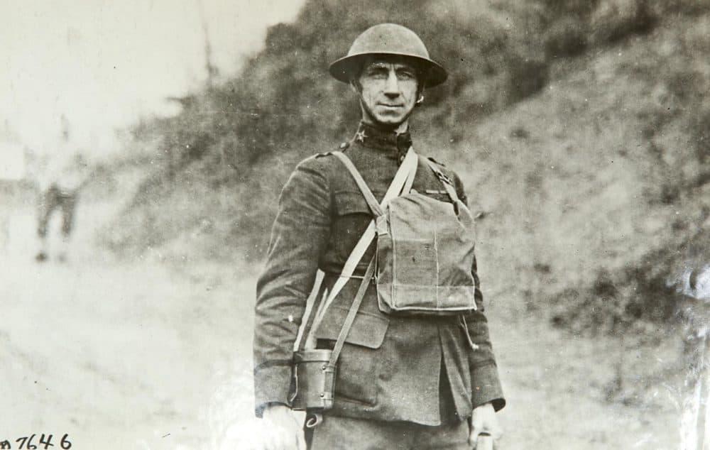 Lt. Colonel G.H. Shelton, the commander of the 104th Regiment of Infantry. (Massachusetts National Guard Archives)