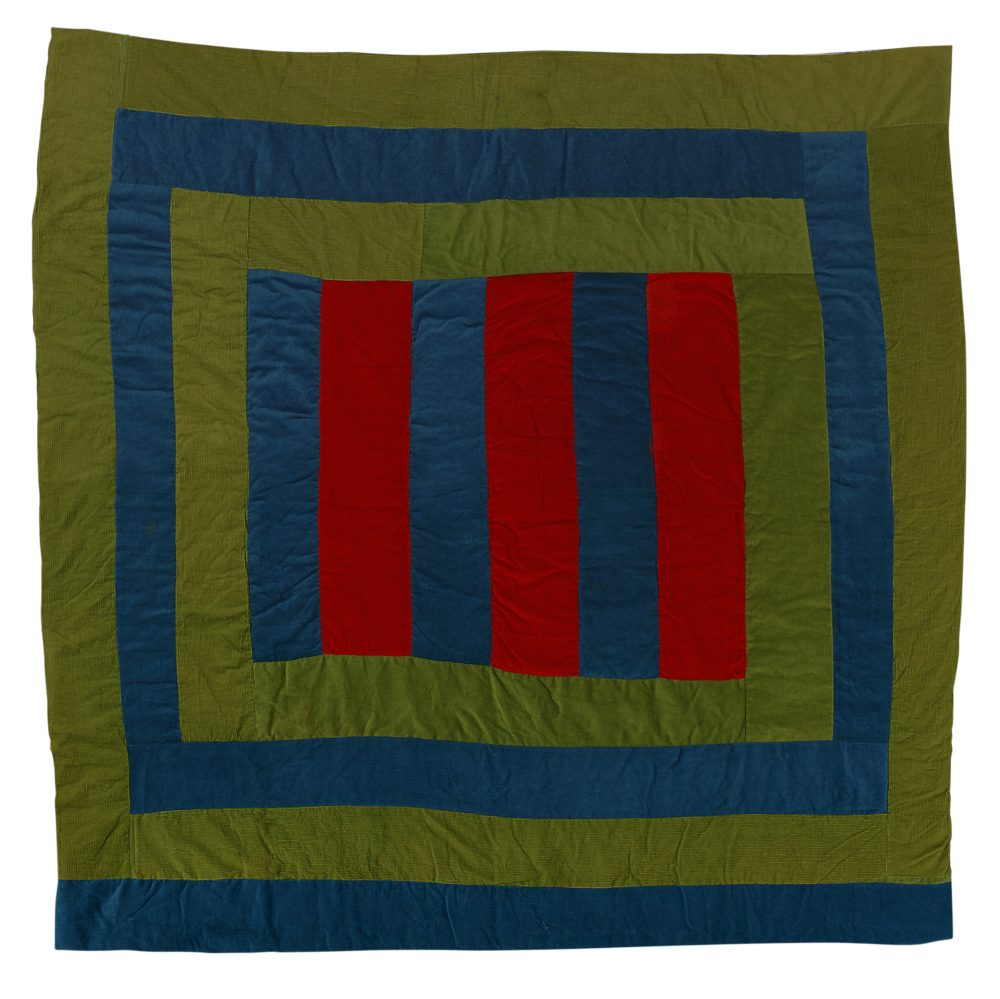 A quilt by Rachel Carey George (Courtesy Museum of Fine Arts)