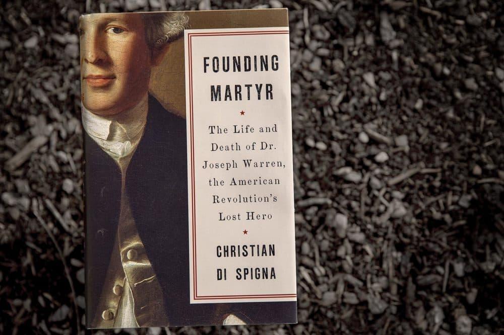 Founding Martyr, by Christian Di Spigna. (Robin Lubbock/WBUR)