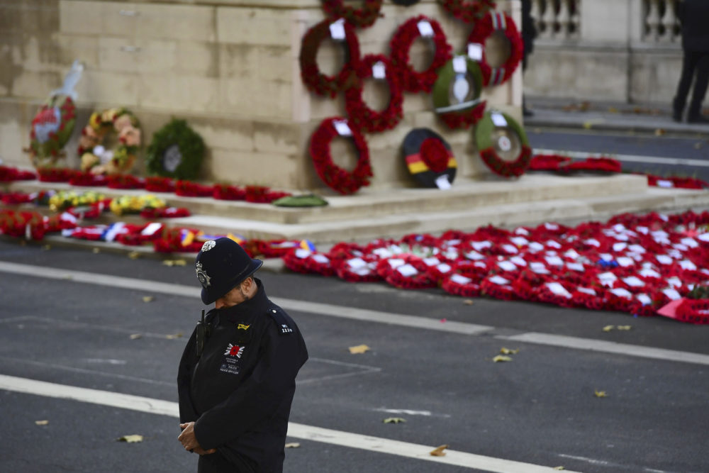 Important For Me To Come': In London, Remembrance Day