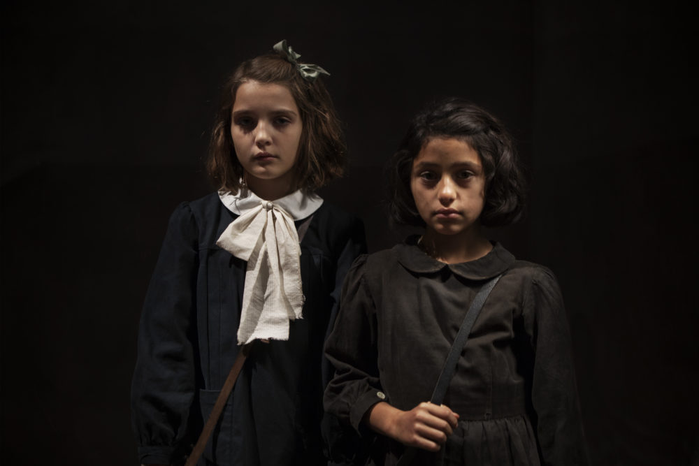 "Elisa Del Genio and Ludovica Nasti in ""My Brilliant Friend."" (Courtesy Eduardo Castaldo/HBO)"
