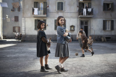 "Ludovica Nasti and Elisa Del Genio in ""My Brilliant Friend."" (Courtesy Eduardo Castaldo/HBO)"