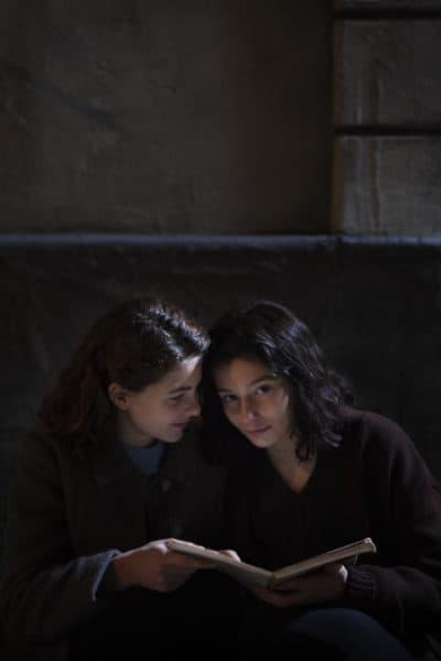 "Margherita Mazzucco and Gaia Girace in ""My Brilliant Friend."" (Courtesy Eduardo Castaldo/HBO)"