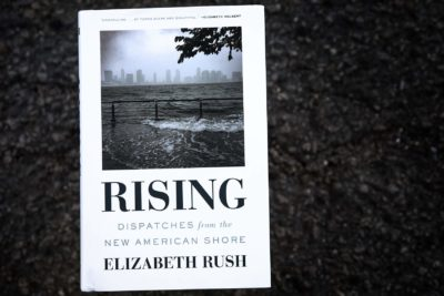 Rising - Dispatches From The New American Shore, by Elizabeth Rush. (Robin Lubbock/WBUR)