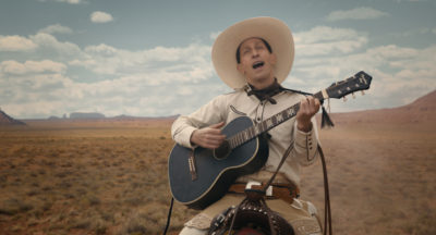 "Tim Blake Nelson as Buster Scruggs in ""The Ballad of Buster Scruggs."" (Courtesy Netflix)"