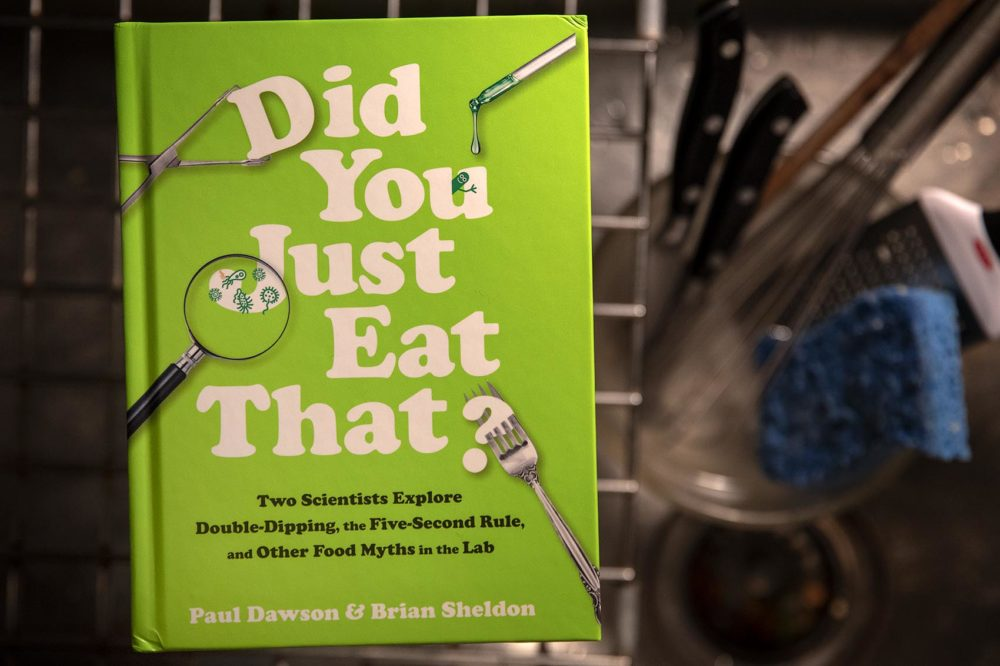 """""""Did You Just Eat That?"""" by Paul Dawson and Brian Sheldon. (Robin Lubbock/WBUR)"""