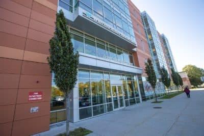 Whittier Street Health Center. (Jesse Costa/WBUR)