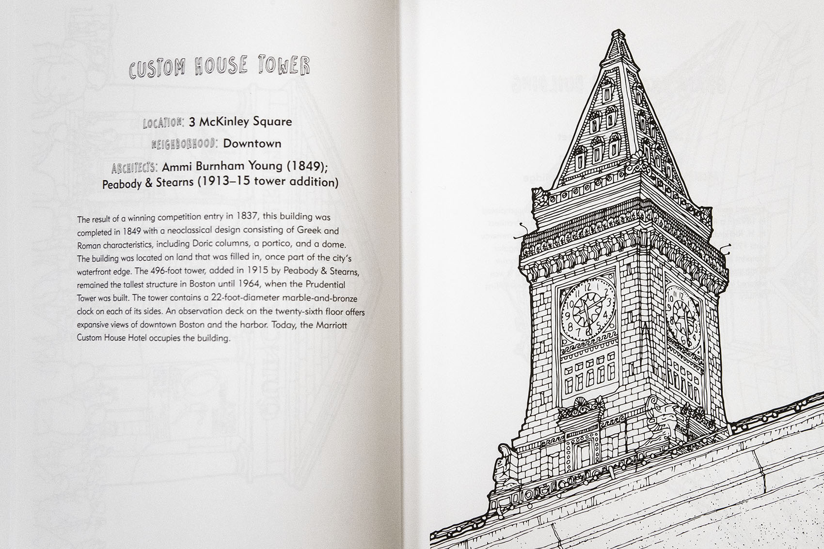 New Coloring Book Features Notable Boston Buildings   The ARTery
