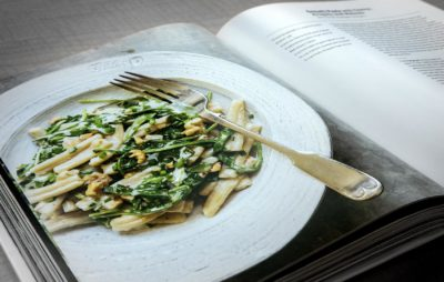 Christopher Kimball's new Milk Street cookbook is among our picks of locally-authored cookbooks. (Robin Lubbock/WBUR)