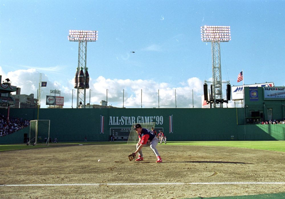 Back in 1999, Fenway Park was in danger. (Ezra O. Shaw/Allsport/Getty Images)