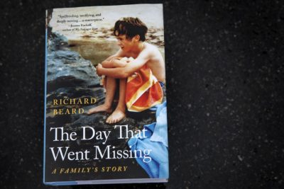 """The Day That Went Missing,"" by Richard Beard. (Robin Lubbock/WBUR)"