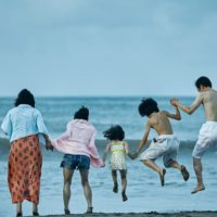 "Ando Sakura, Matsuoka Mayu, Sasaki Miyu, Jyo Kairi and Lily Franky in ""Shoplifters."" (Courtesy Magnolia Pictures)"