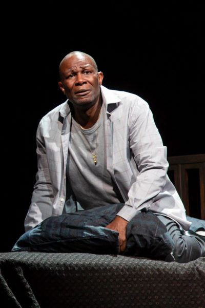 John Douglas Thompson as Emile Griffith (Courtesy Huntington Theatre Company)