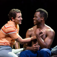 Victor Almanzar and Kyle Vincent Terry (Courtesy Huntington Theatre Company)