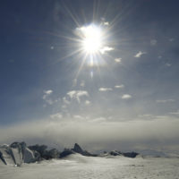 This Saturday, Nov. 12, 2016, file photo shows a frozen section of the Ross Sea at the Scott Base in Antarctica. (Mark Ralston/Pool Photo via AP, File)