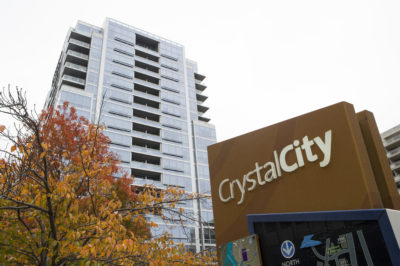 Crystal City, in Arlington, Va., is seen Tuesday. Crystal City has been named as one of Amazon's new headquarters. (Cliff Owen/AP)