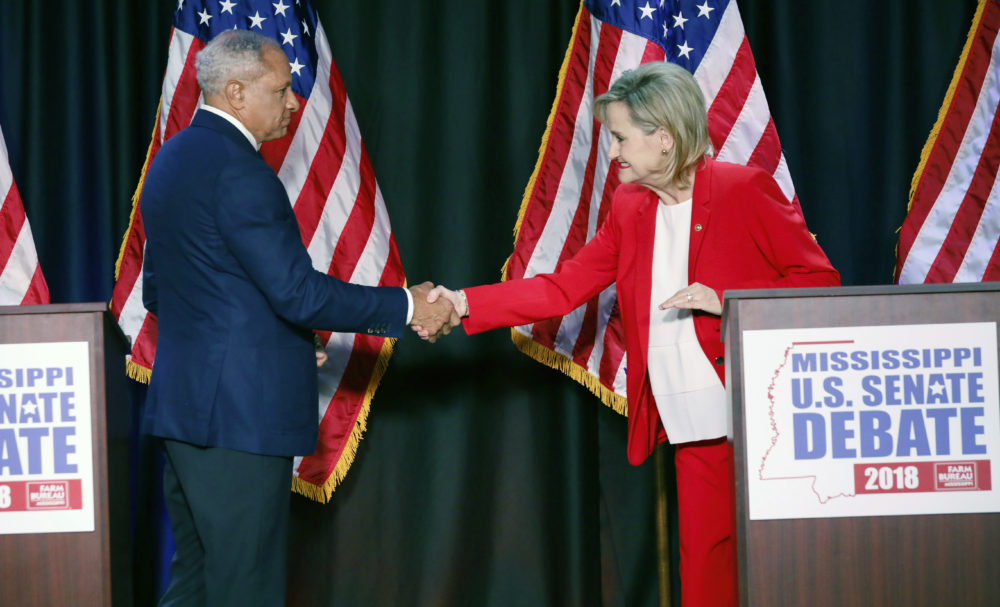 Final campaigning is crucial for candidates Cindy Hyde-Smith and Mike Espy