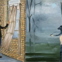 """Alexandra Rozenman's """"The Two Worlds."""" (Courtesy of the artist)"""