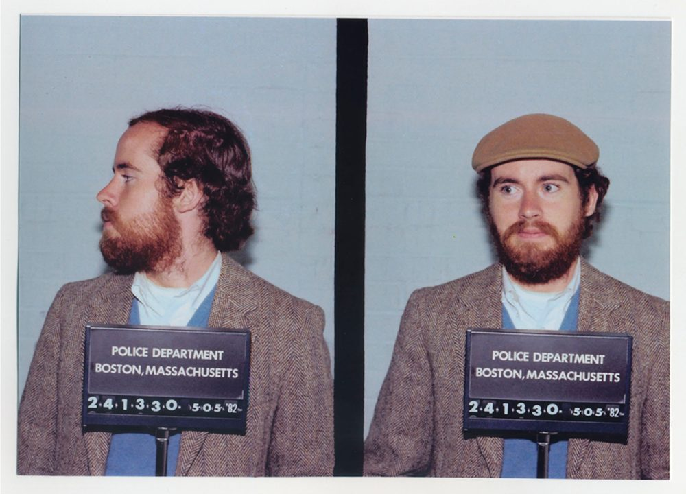 Brian McDevitt in 1982. After he was released from New York state prison for his attempted robbery of the Hyde Collection, he was brought back to Boston to face charges for the 1979 safe deposit box thefts, for which he did time served and two years parole. (Courtesy Stéphanie Rabinowitz)